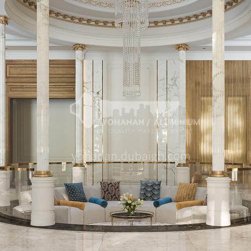 Villa Design-Arabian style luxury villa design VAS1031