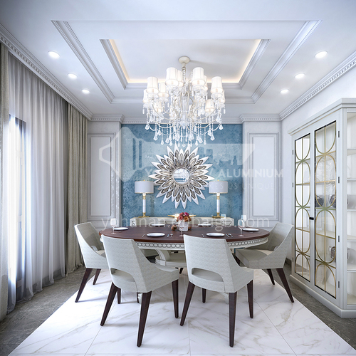 Villa Design-Arabian classic luxury villa design VAS1032