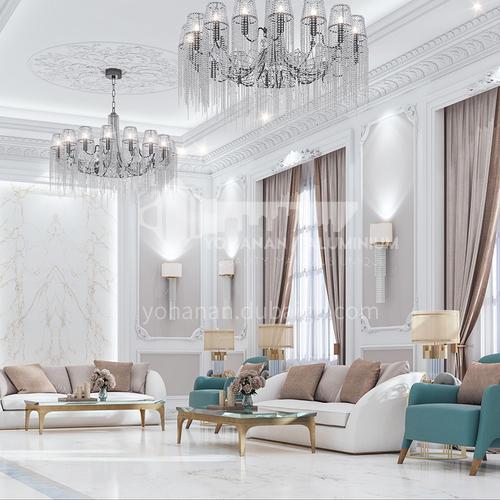 Villa Design-Arabic classic style villa design VAS1033
