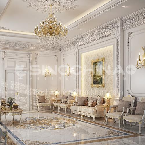 Villa Design - modern arabic style villa design VAS1038