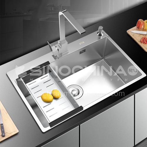 304 stainless steel handmade sink dish basin AC7541