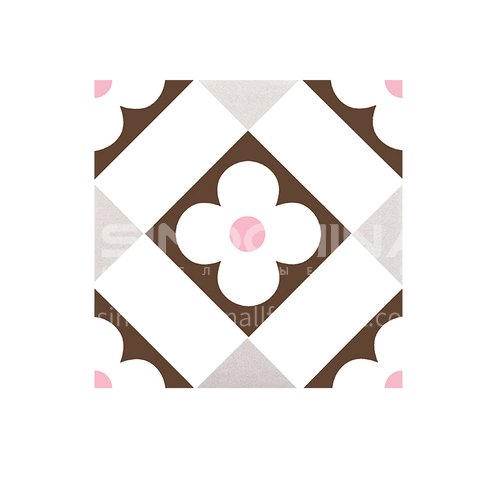 Nordic retro bathroom living room balcony non-slip floor tiles cement floor tiles antique small tiles tiles-SSFYGODDESS TILES-22 200mm*200mm