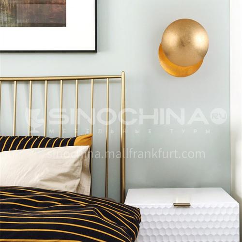 Designer Lunar Wall Lamp Living Room Nordic Bedroom Bedside Hotel Corridor Aisle Wall Lamp QHDF-QH-51005B
