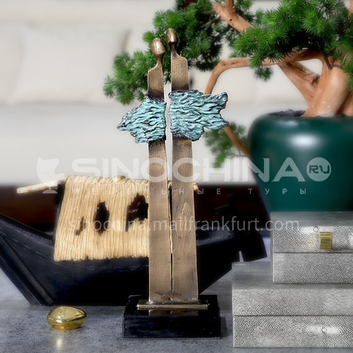 Creative Chinese Character Decoration Chinese Style Bookcase Wine Rack Decoration Decoration  FX-DC0536