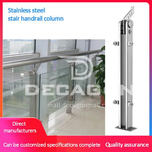 304 Stainless Steel Handrail Column GJ-82043