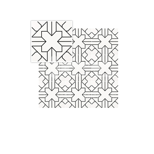 Nordic small tiles bathroom kitchen balcony floor tile wall tiles-SSFYTF2087  200*200mm