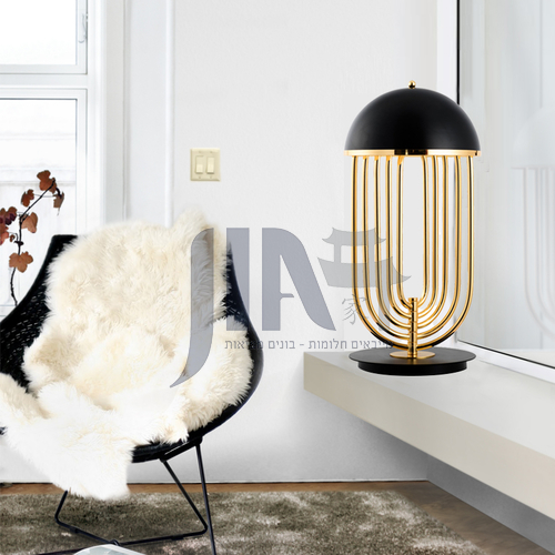 Nordic style table lamp art creative personality living room bedroom hotel bedside lamp-YDH-8252
