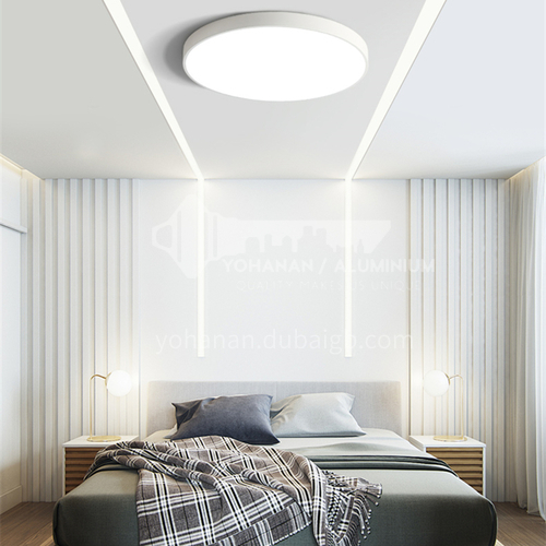 Nordic ultra-thin led ceiling lamp modern round bedroom living room lamp color balcony lamp DR-7012