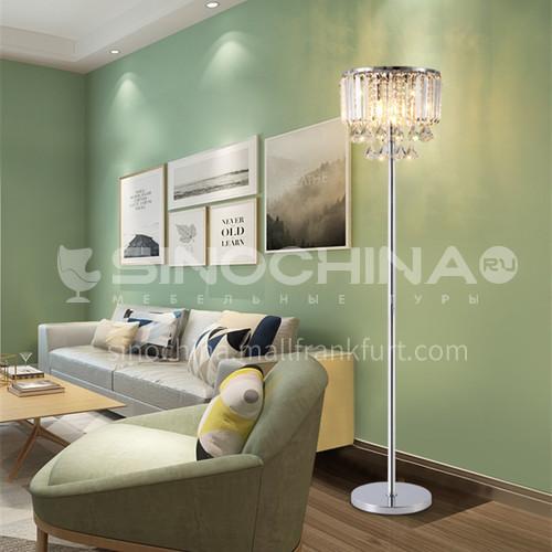 Living room crystal floor lamp simple modern personality creative household led crystal lamp bedroom floor lamp-GD-0215
