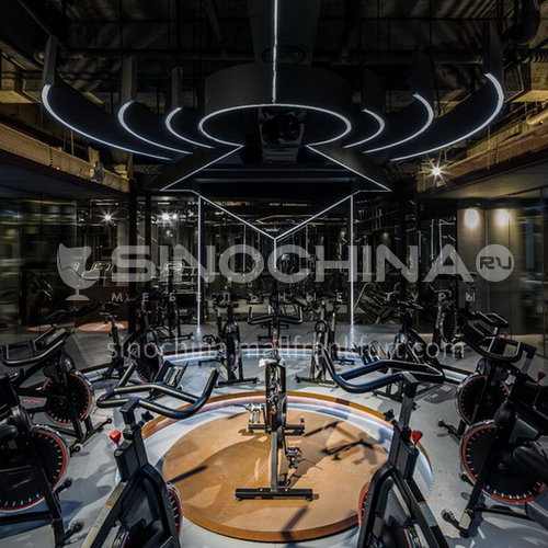 Fitness Center - Industrial Style Fitness Center    BG1001