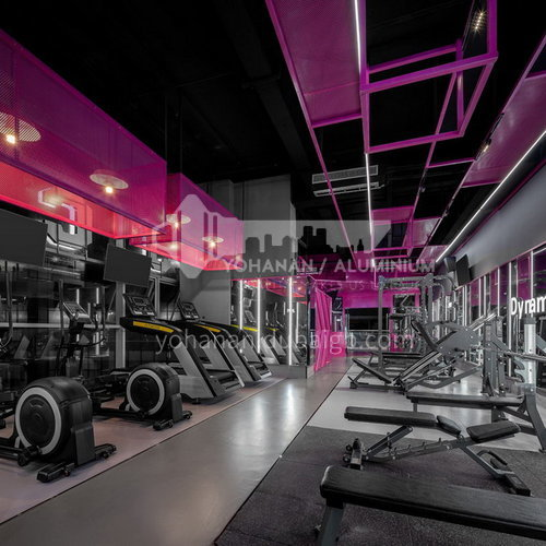 Fitness Room - Pink World    BG1003