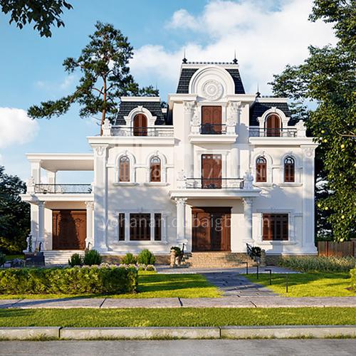 Exterior design - classic villa   ECS1002
