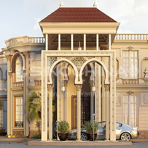Exterior design - private villa design    ECS1009