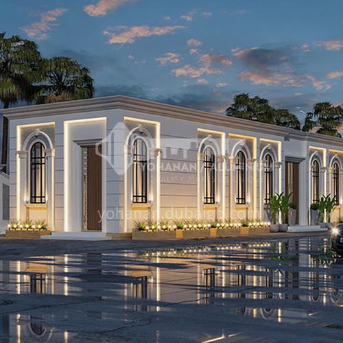 Exterior design - neo-classical exterior     ECS1012