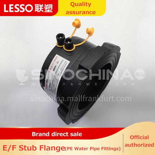 Electrofusion flange sleeve (PE accessories) black