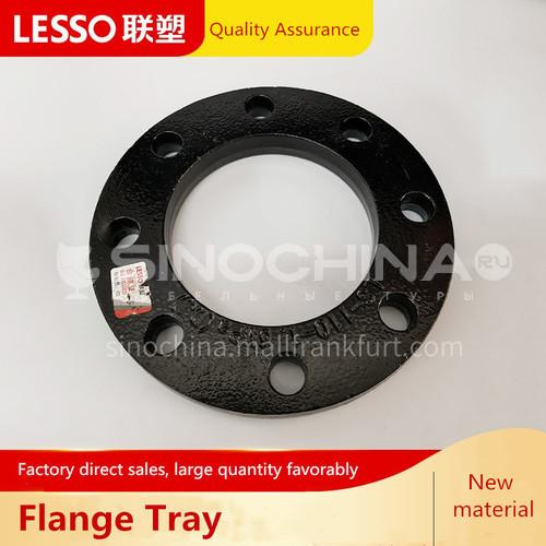 Butt flange (PE fitting), pressure 1.0MPa, black