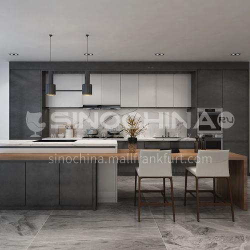 Modern kitchen UV Lacquer with HDF open kitchen-GK-031