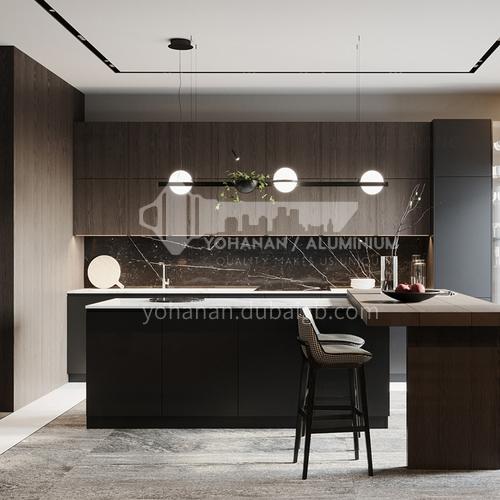 Modern kitchen import quartz stone open kitchen-GK-033