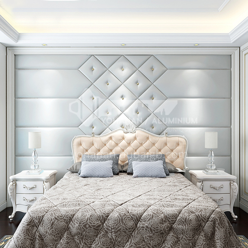 Customized  bedroom different color choice Background Wall BGW004