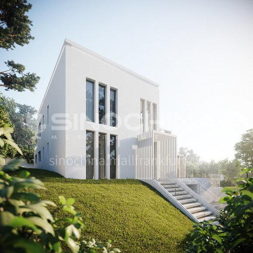 Exterior design - modern villa design       EMS1003