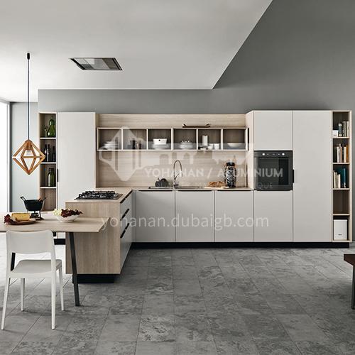 Modern style melamine simple design kitchen cabinet GK-038