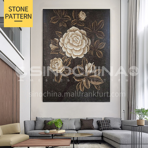 Natural marble classical style mosaic M-17
