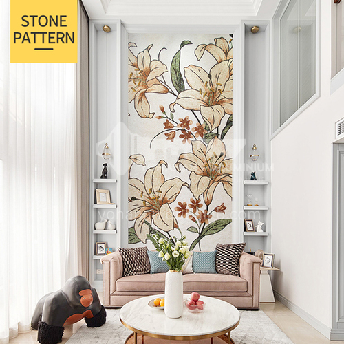 Natural marble classical style household mural mosaic M-20