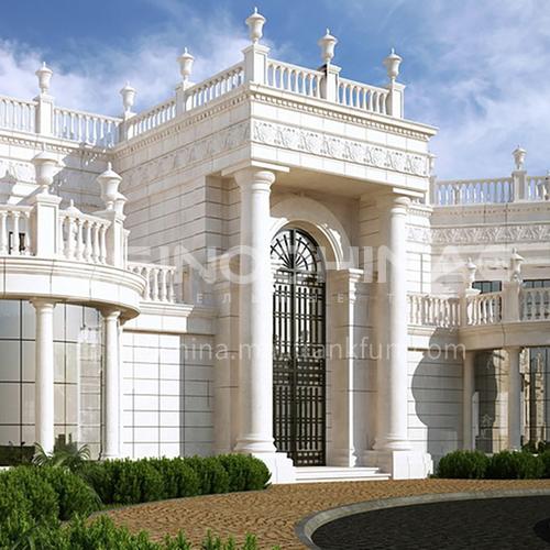Exterior design - classic villa     ECS1019