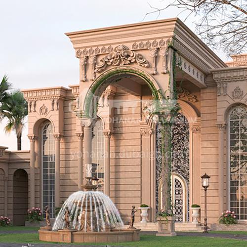 Exterior design - classic villa exterior      ECS1023