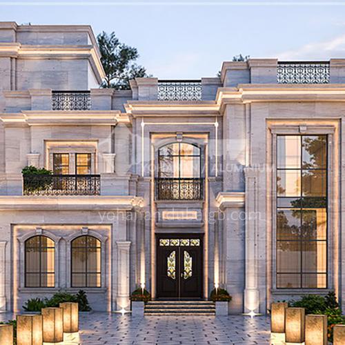Exterior Design - Neoclassical Villa - Abu Dhabi      ECS1029