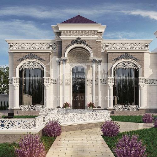 Exterior Design - Classical European Villa     ECS1036