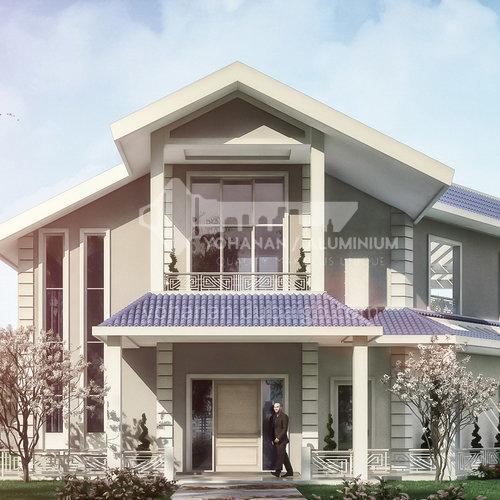 Exterior design - country house     ECS1039