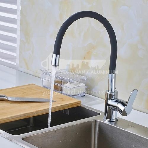 kitchen sink  faucet black