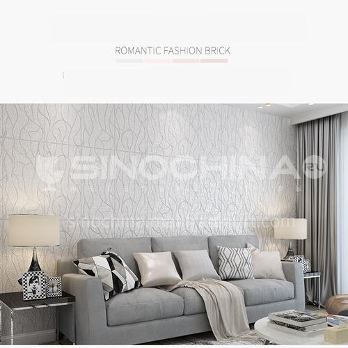 Waterproof and mildew proof modern 3D Self-Adhesive wall panel 8802
