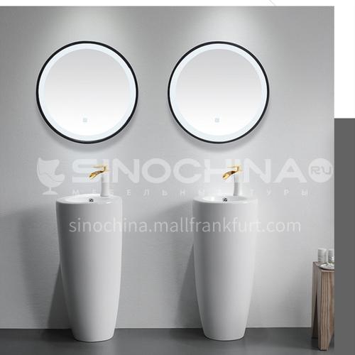 free stand ceramic pedestal basin