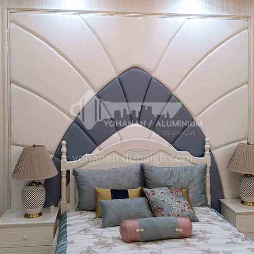 Bedroom background with classic style Customized Background Wall BGW026