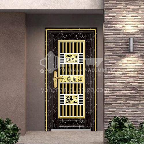 304 stainless steel door anti-theft entrance door 10-1