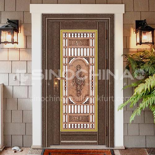 304 stainless steel door anti-theft entrance door 22