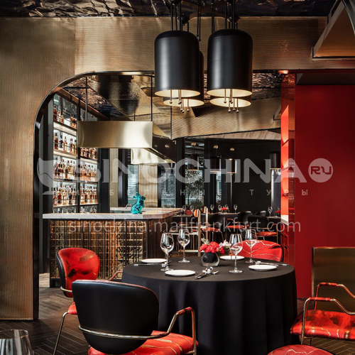 Restaurant - 1290㎡ modern restaurant design BR1007