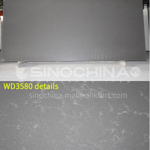 Imported high-grade material gray pattern quartz stone GC-006