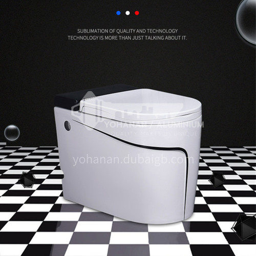 tankless pulsed flush toilet  with touch flush and foot kick flush   2055