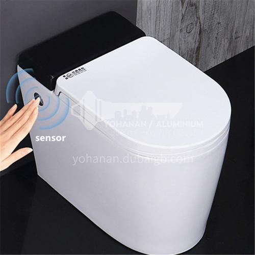 Tankless pulse toilet foot kick flushing toilet