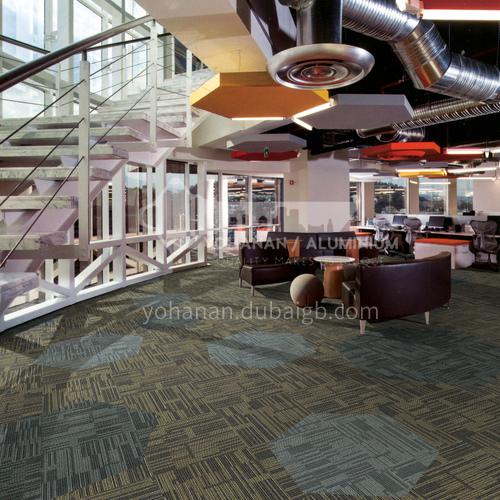 50*50cm PP+PVC Office Carpet 13C0