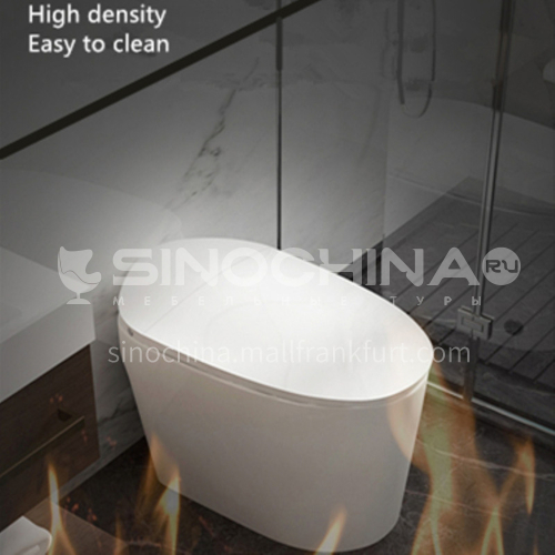 Foot flush without cistern electric toilet toilet household small seat