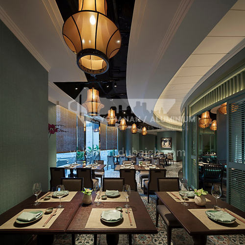 Restaurant - 362㎡ Vietnamese restaurant design BR1010