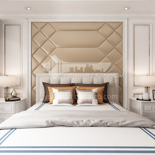 Comfortable bedroom Customized Background Wall BGW034