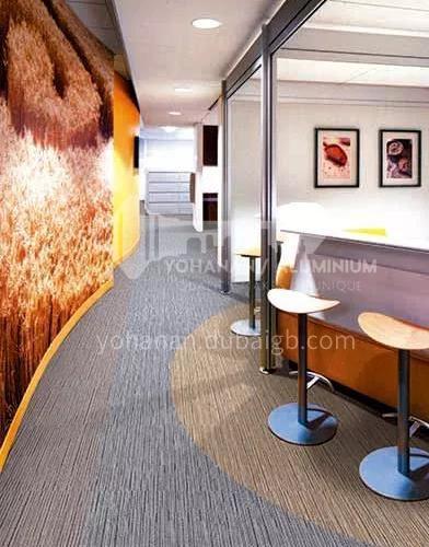 50*50cm PP+bitumen Office Carpet PH112M