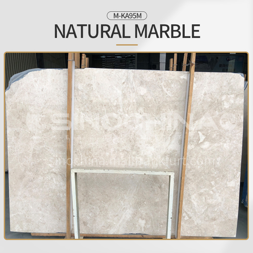 Modern light luxury beige natural marble M-KA95M