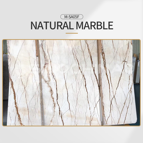 Modern light luxury beige natural marble M-SA05F