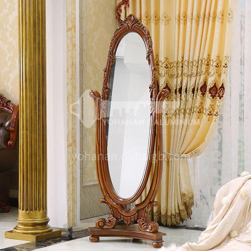 GH-1102- European style, floor-to-ceiling dressing mirror, full-length mirror, bedroom dressing mirror, decorative mirror, European-style full-length mirror